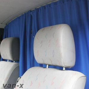 VW Crafter Cab Divider Curtain Kit