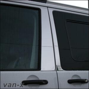 Door Pillar Trims For VW T5 Transporter Stainless Steel