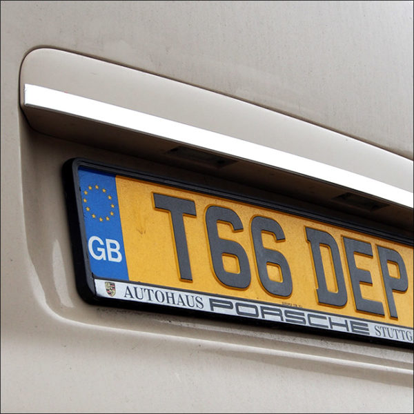 Rear Tailgate Number Plate Edge Trim For VW T5 Transporter