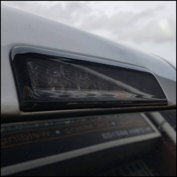 Tailgate 3Rd Brake Light Smoked Lens For VW Caddy