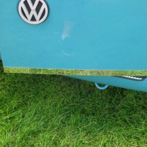 VW T4 Transporter Barndoor Edge Trim Stainless Steel