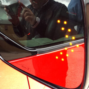 VW T4 LED Wing Mirror Lens Non-Heated