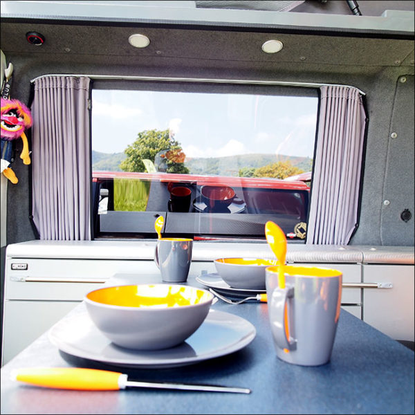 Citroen Relay Premium 2 x Side Window Curtains Van-X