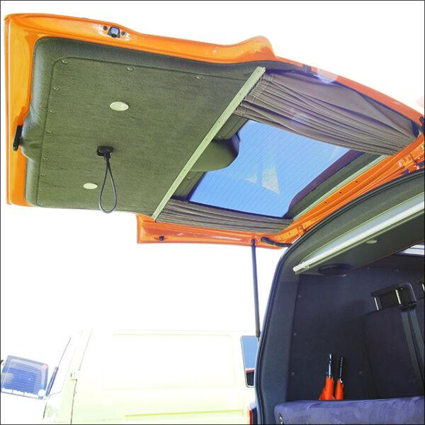 VW Volkswagen T6 Premium 1 x Tailgate Window Curtain Van-X