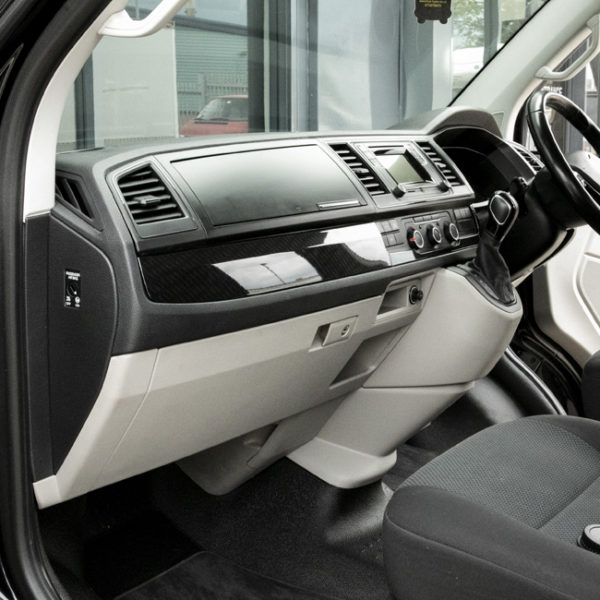VW Transporter T6 Full Comfort Dash Style Carbon Effect Trims