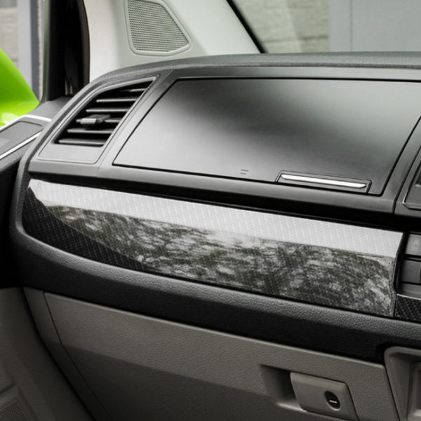 VW Transporter T6 Full Comfort Dash Style Carbon Effect Trims